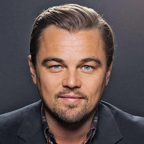 Leonardo DiCaprio corte de pelo