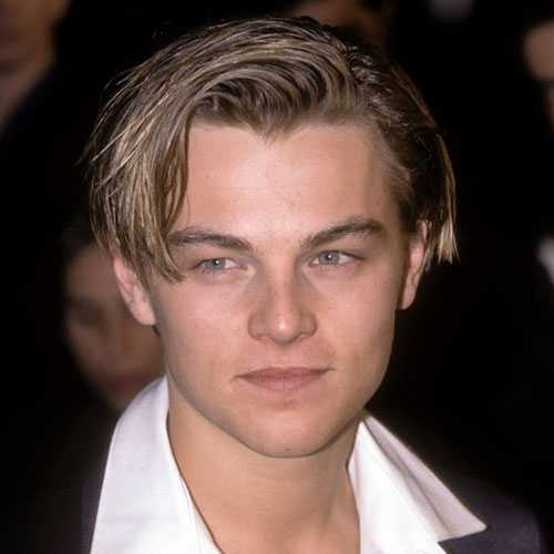 Leonardo DiCaprio Peinado - Cabello largo como Kid