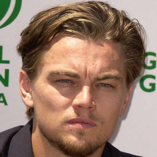Leonardo DiCaprio largos peinados