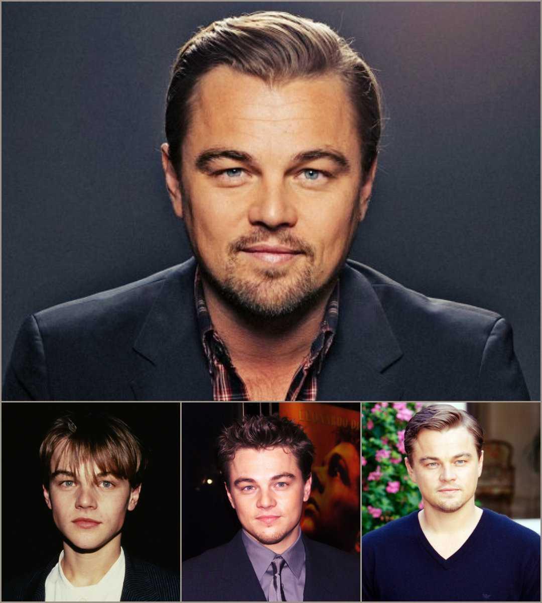 peinados para hombre de Leonardo DiCaprio