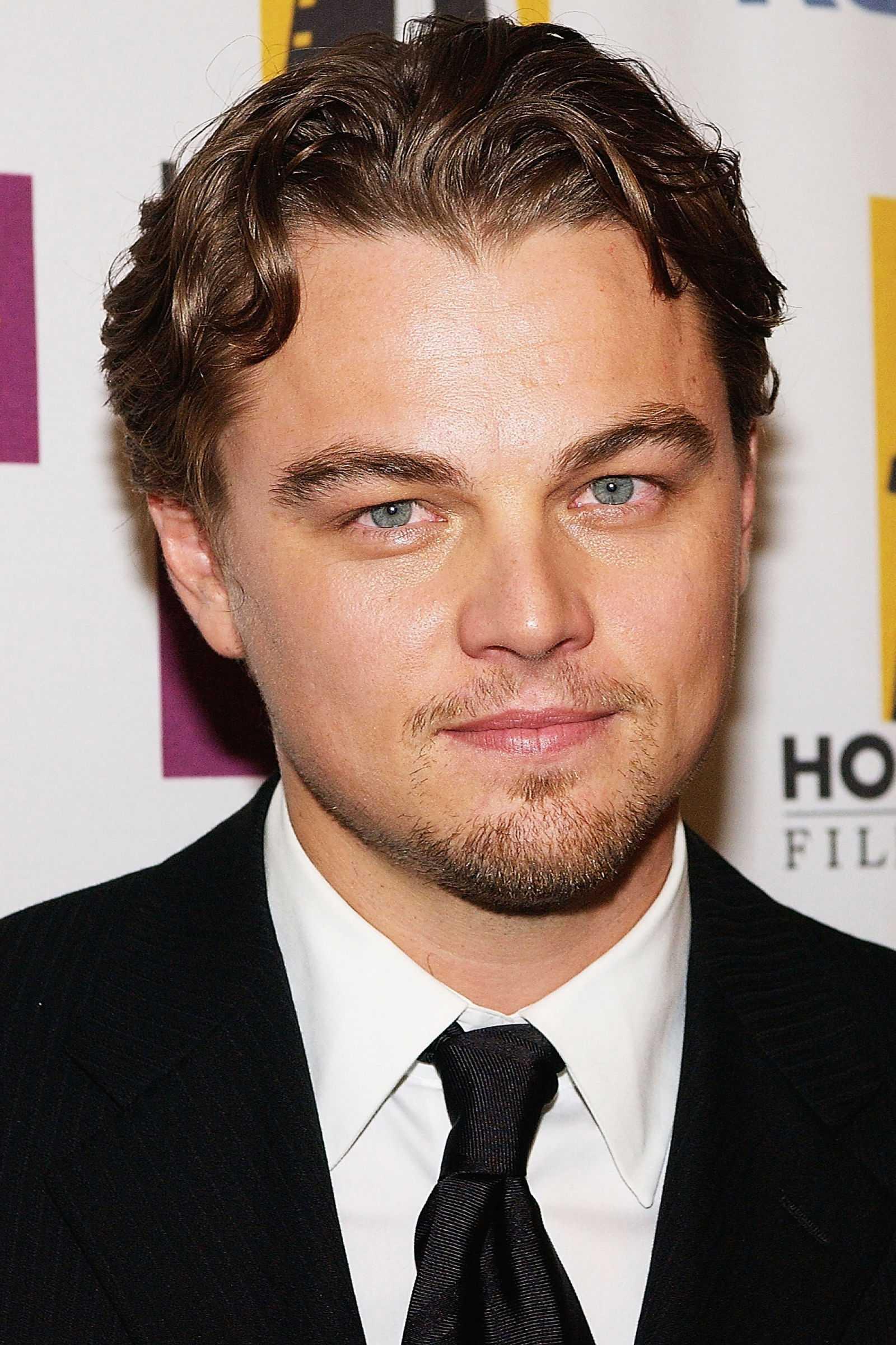 peinados de las celebridades Leonardo DiCaprio 2004