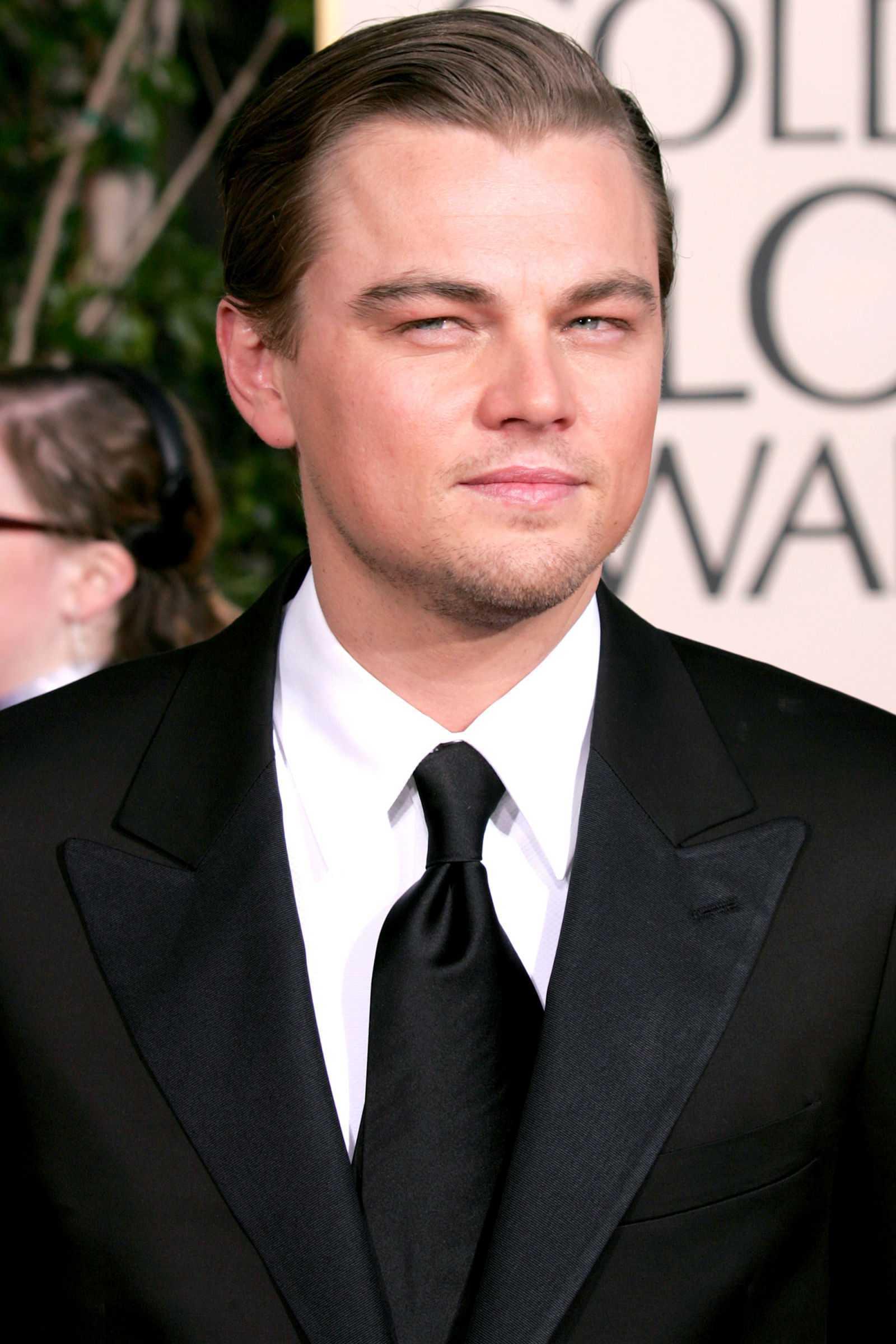 peinados de las celebridades Leonardo DiCaprio 2005
