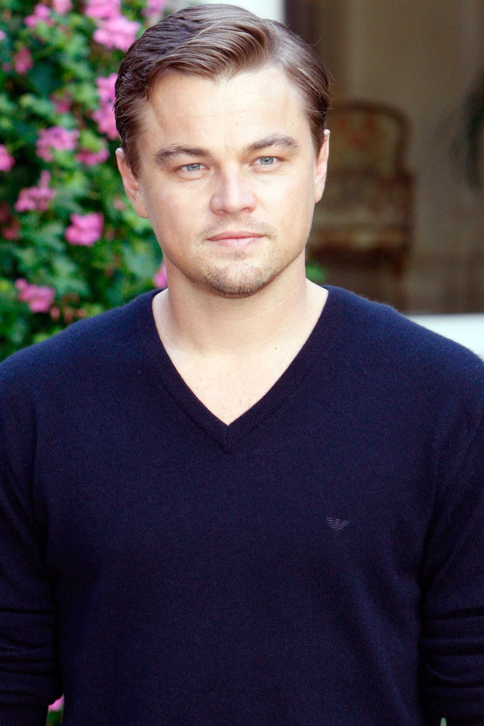 peinados de las celebridades Leonardo DiCaprio 2008