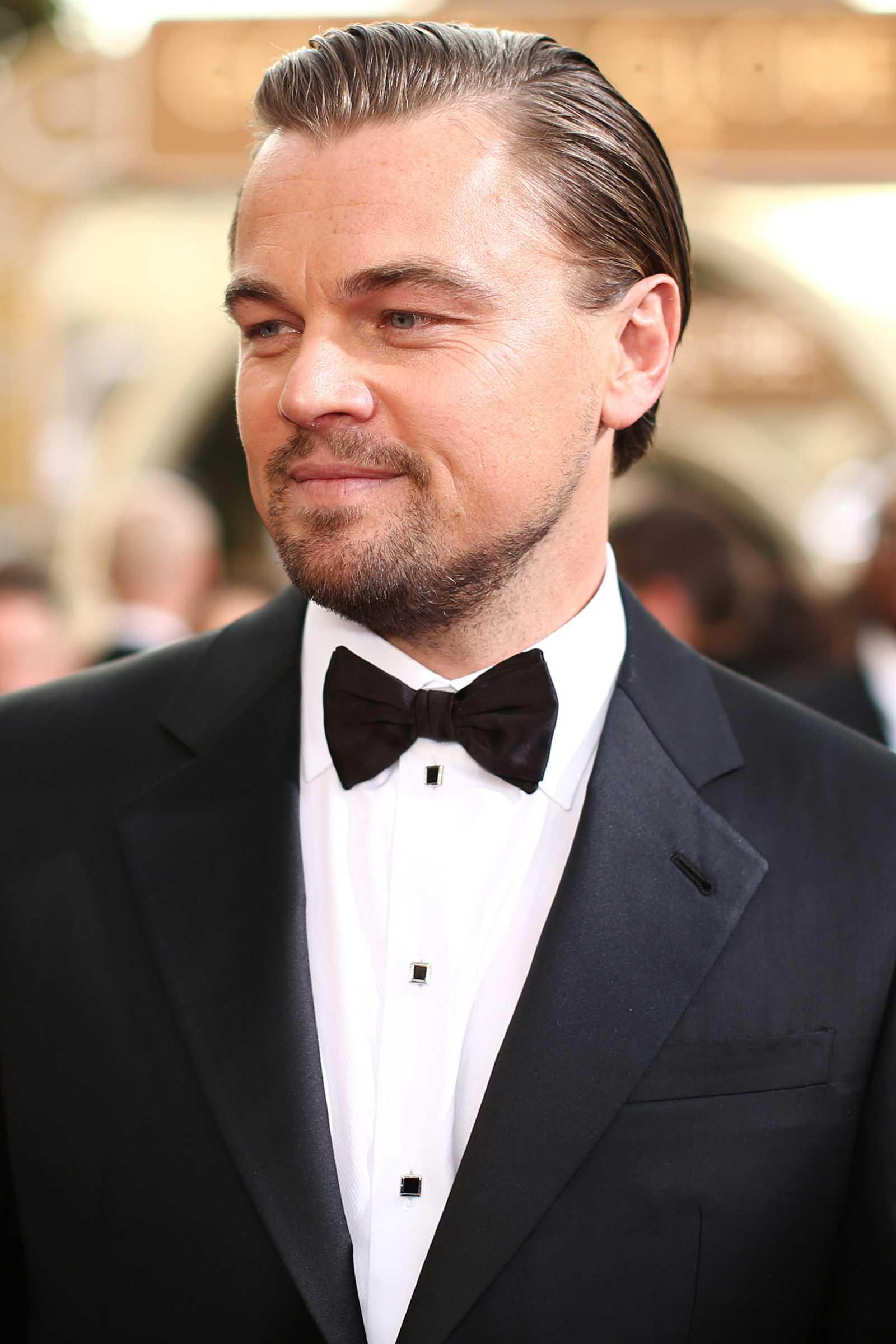 peinados de las celebridades Leonardo DiCaprio 2014