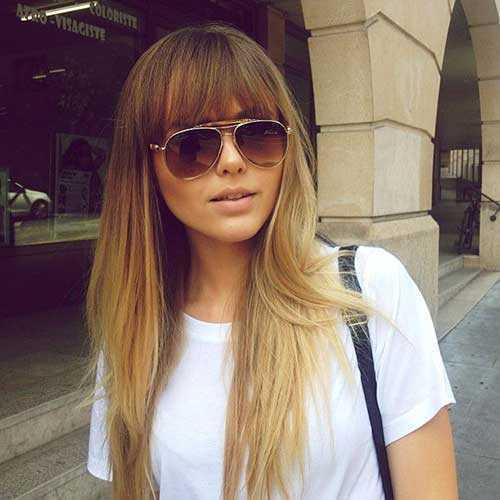 Corta el pelo rubio largo xc_pin