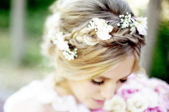 La mayoría de los peinados de boda atractivo y romántico