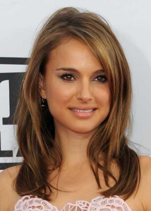 Natalie Portman caída peinados de Medio Pelo