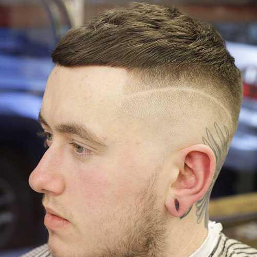 estilos de cabello muy corto para los hombres