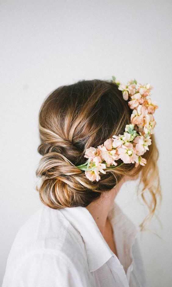 románticos Coiffures boda peinados