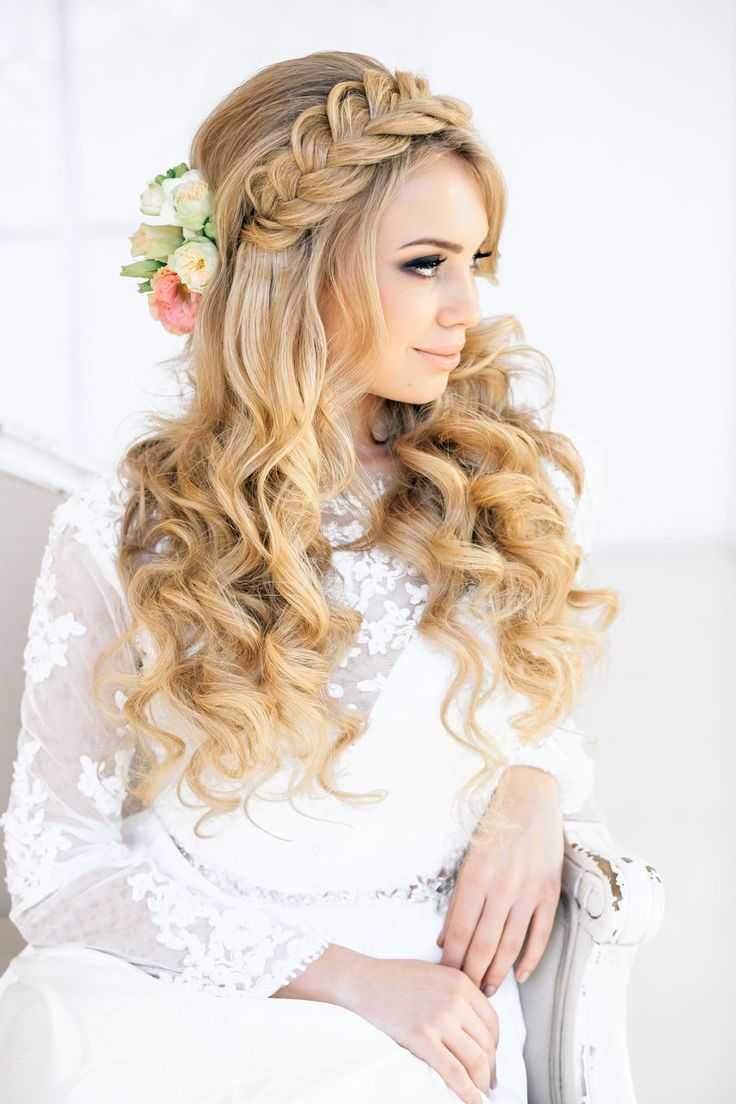 románticos Trenza de boda peinados