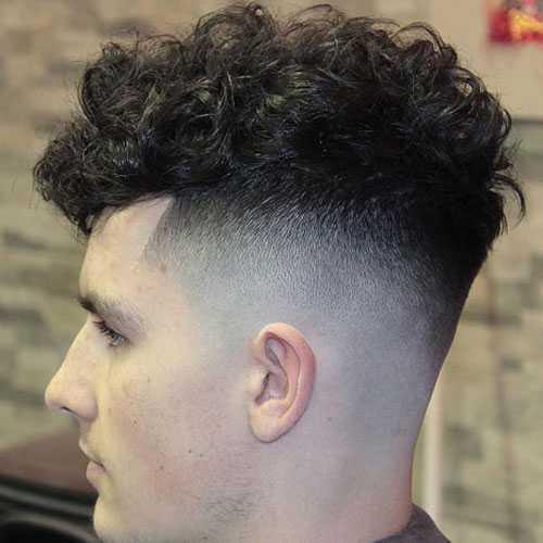Shaggy corte de pelo para los individuos
