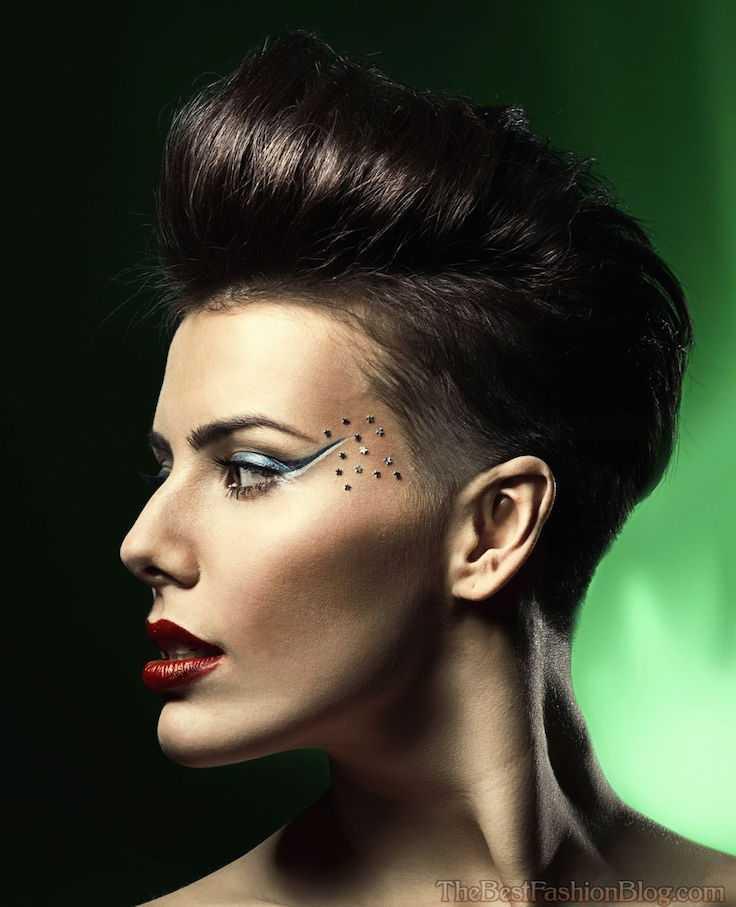 Afeitado peinados para las mujeres
