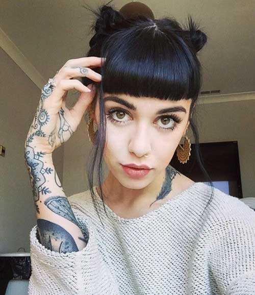 Cabello corto peinados-8