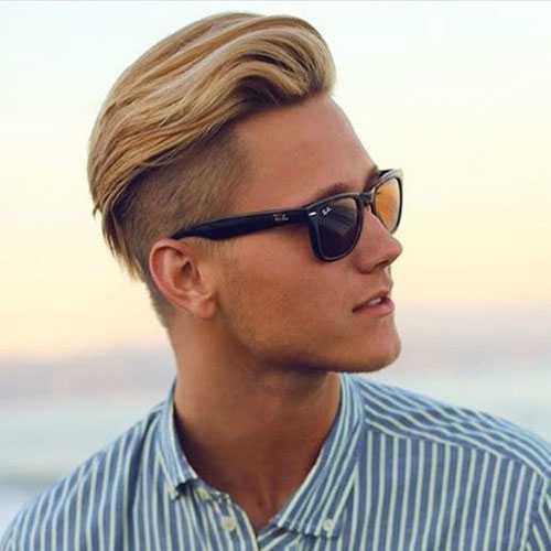 pelo de verano para los hombres - Tallado libre con el peine sobre