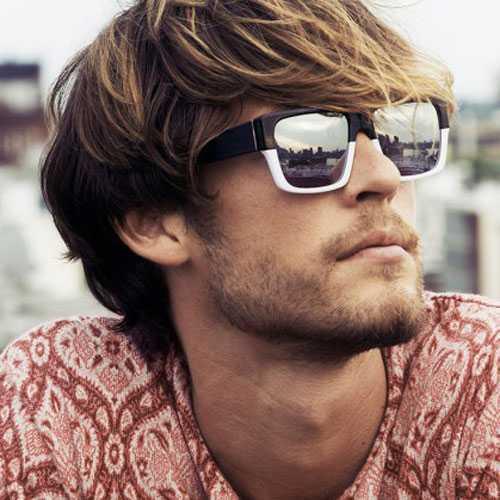 Verano Peinado para los muchachos - largo pelo sucio con Bangs