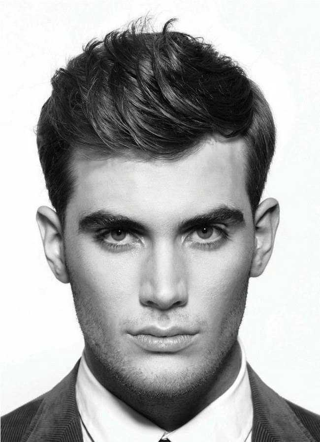 moda peinados para hombres pelo corto
