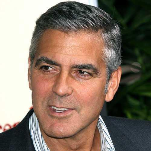 El corte de pelo Clooney