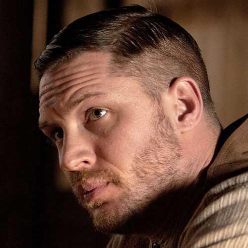 tom Hardy Lawless corte de pelo