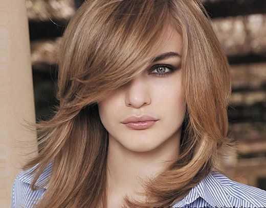 peinados de moda para la caída del pelo Medio
