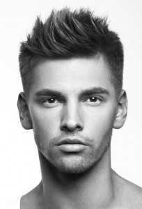 Hombres con estilo Cortes de pelo tendencias para el pelo corto y mediano 2014-2015
