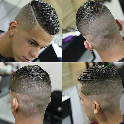 peinados muy cortos para los hombres
