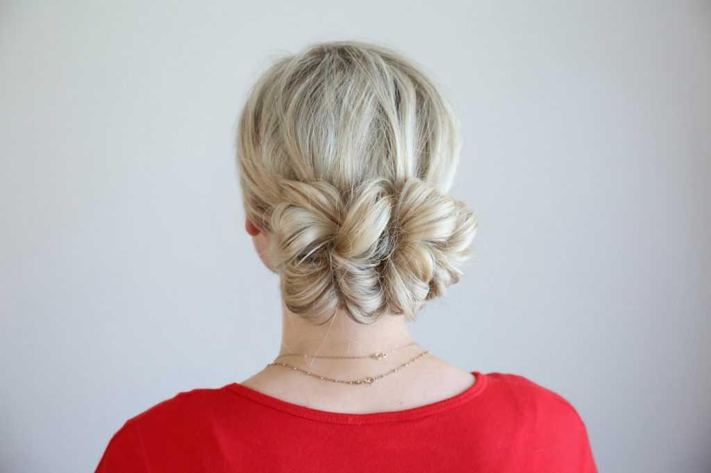 Pull-Thru Updo | lindas chicas peinados