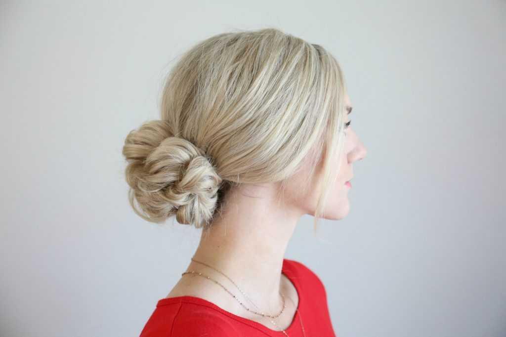 Pull-Thru Updo | lindas chicas Hairsytles