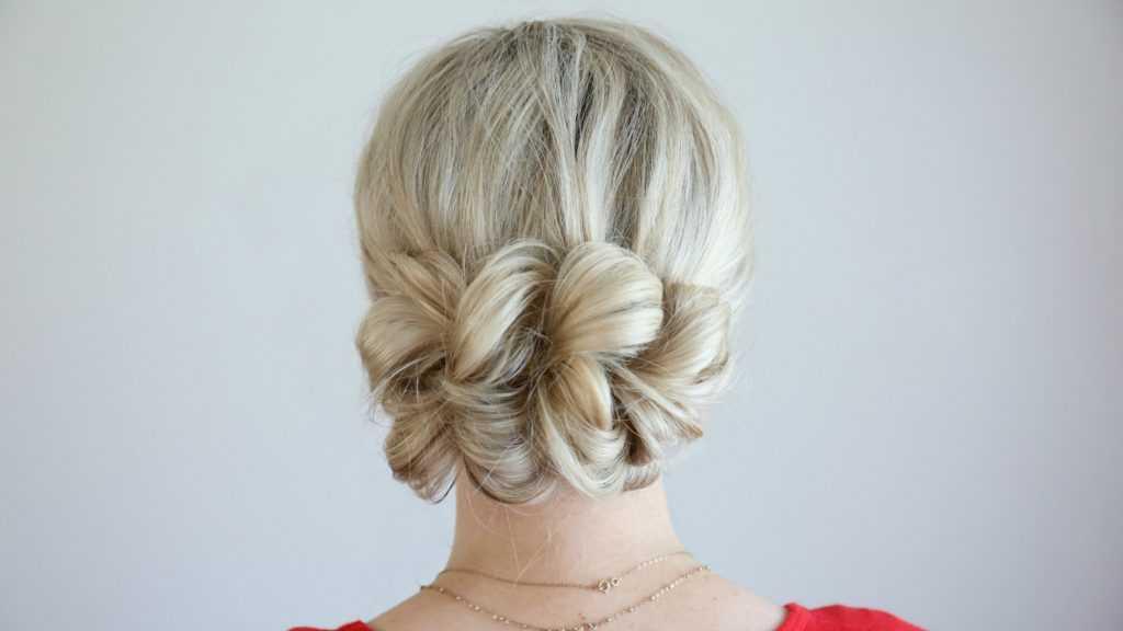 Pull-Thru Updo | Linda chicas peinados