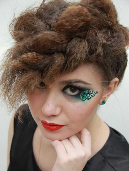 trenzada-fauxhawk-prom-peinado
