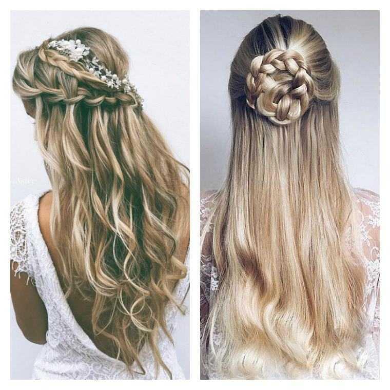 mujer esteras boda peinado