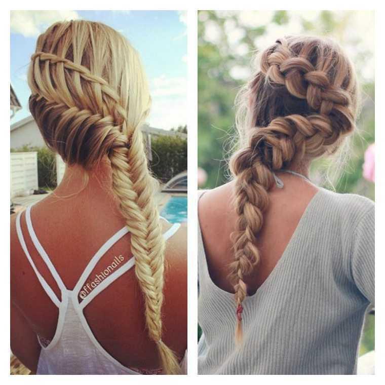 mujeres esteras de la manera fácil peinado