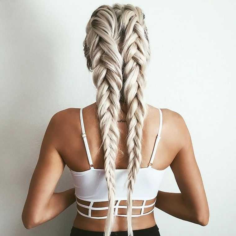 trenzas trenza de cabello mujeres fáciles