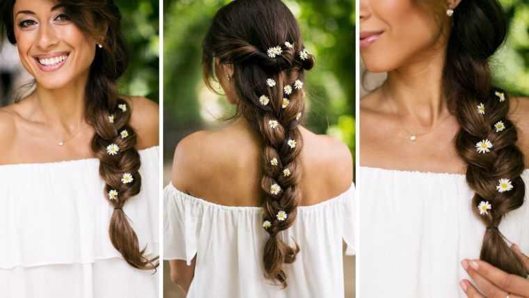 width cabello trenzado-matrimonio-mujer
