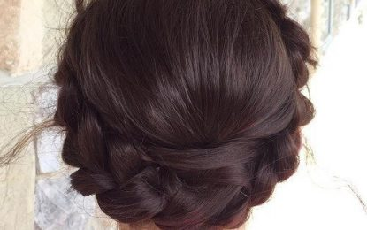 La inspiración del pelo: 18 Ideas lindas lechera trenza para niñas