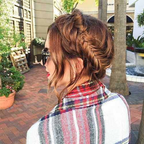 Formas elegante de tener lechera peinados