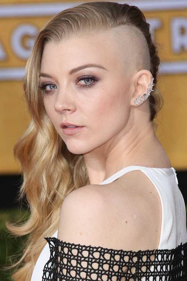 medio pelo afeitado Natalie Dormer