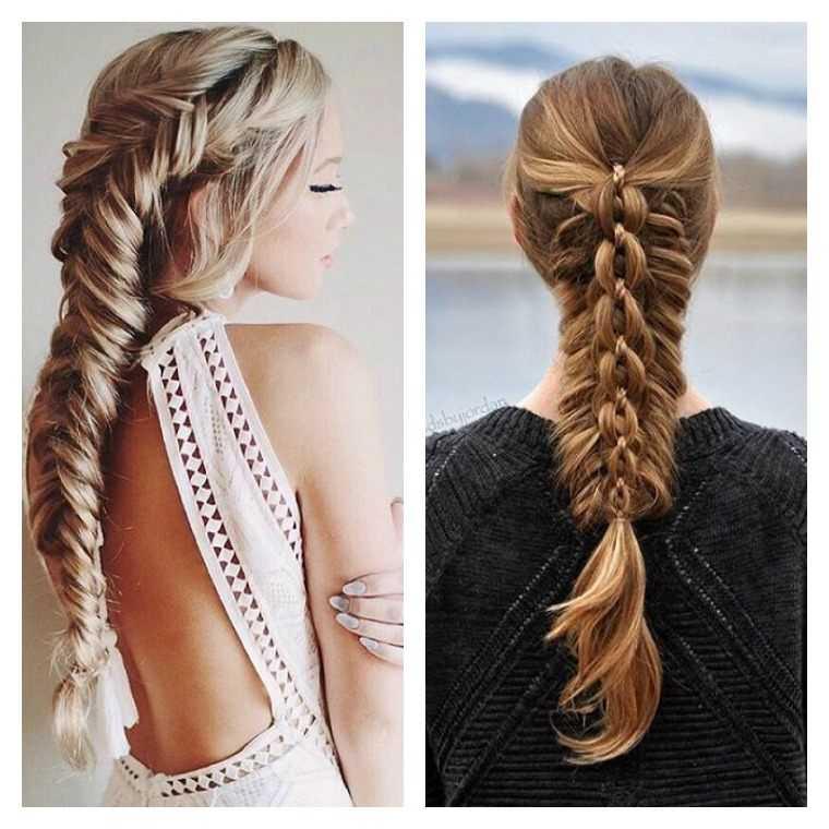mujer idee sencillos peinados