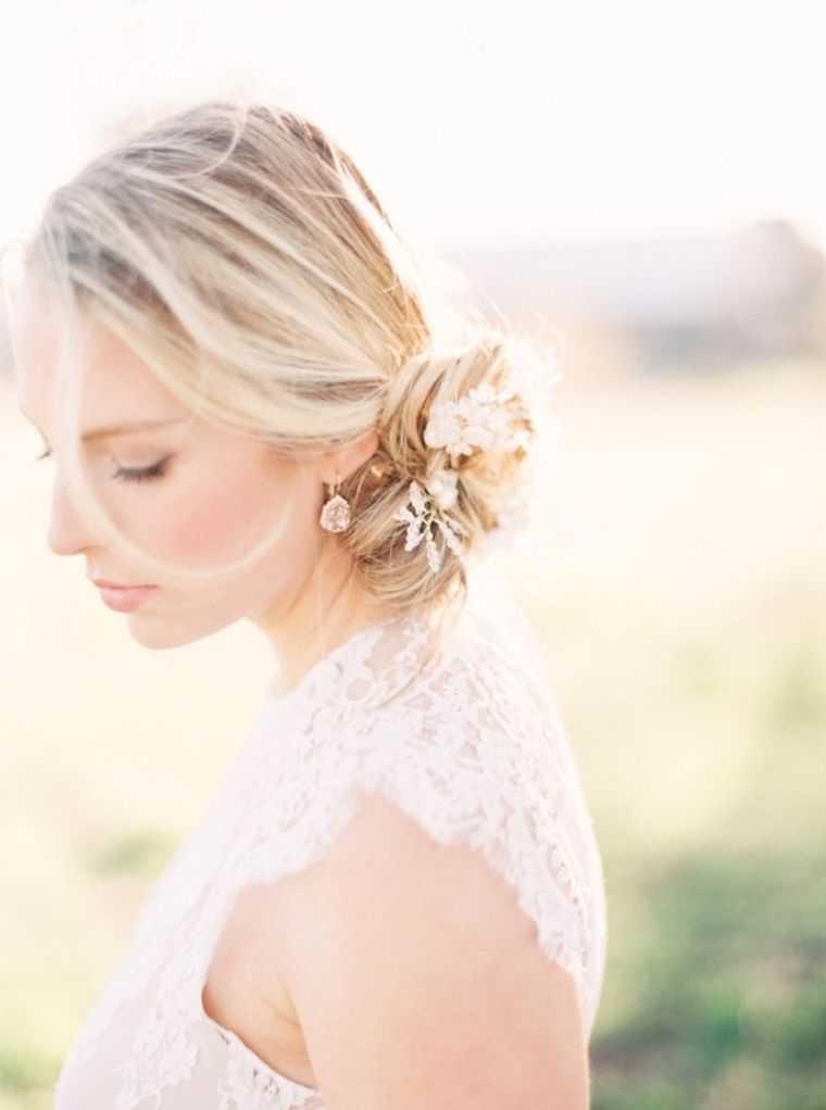 modelo bollo de la boda peinados de época de estilo