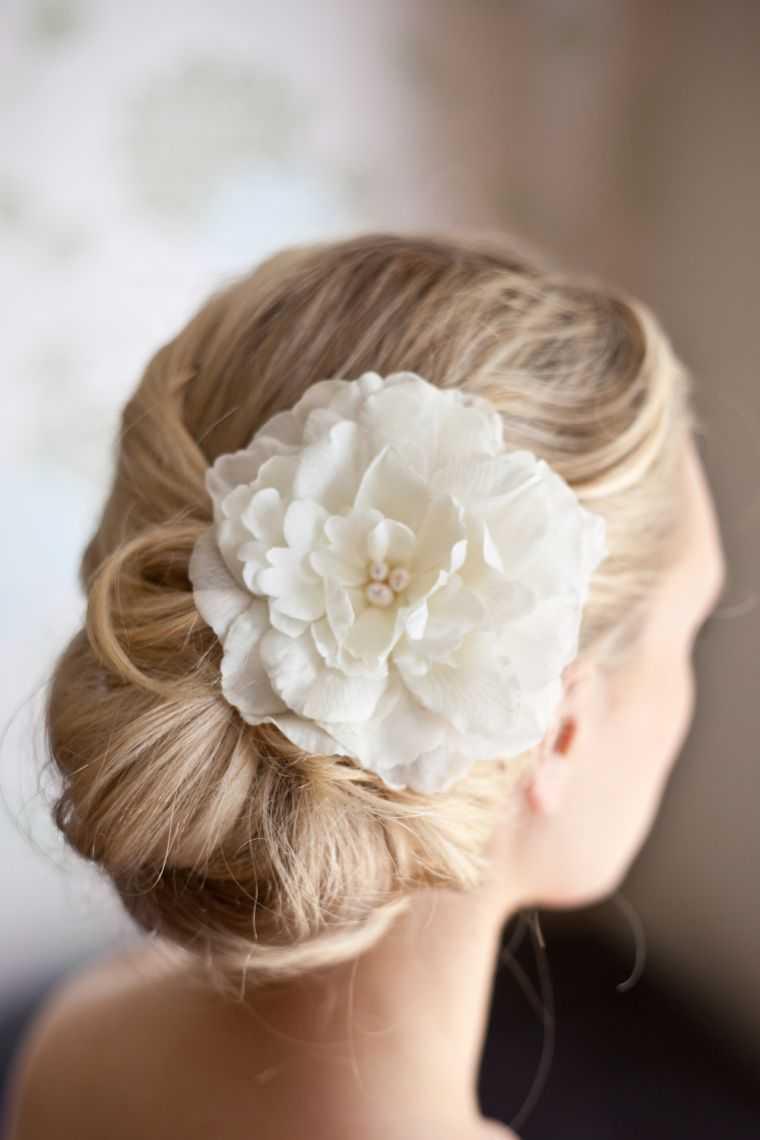 boda bollo modelo de peinado