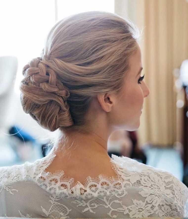 foto de la boda de pelo del bollo