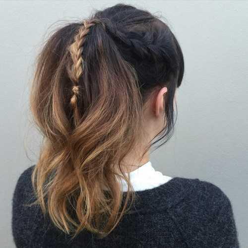 peinados románticos para las niñas