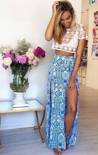 calle-estilo-raja-maxi-falda-pura-crochet-encaje