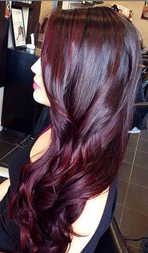 Las ideas de color de pelo para pelo oscuro-10