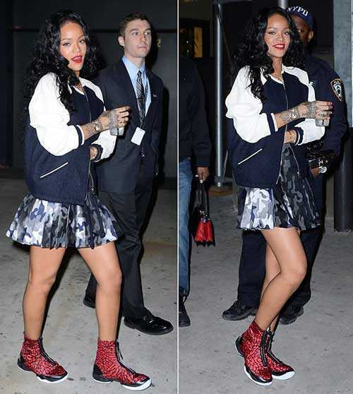 Rihanna de pelo largo rizado-14