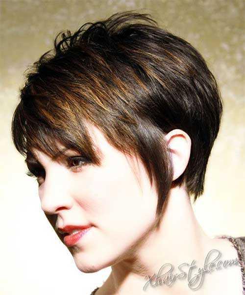 Estilos de pelo corto para mujeres mayores de 40-11