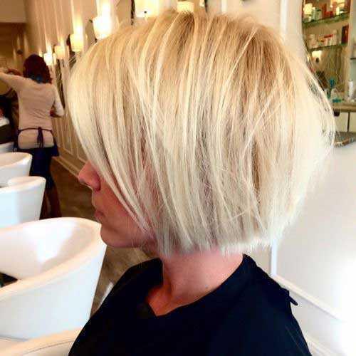 Rubio corto peinados-13