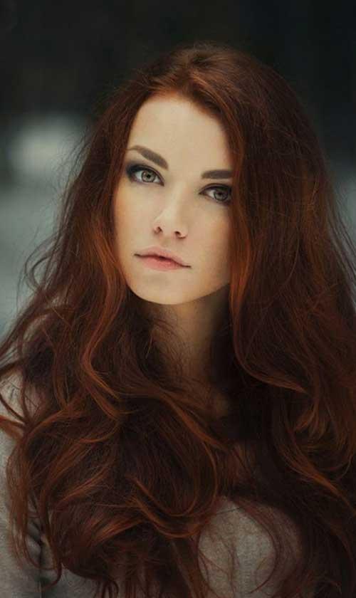 Las ideas de color de pelo para pelo oscuro-12