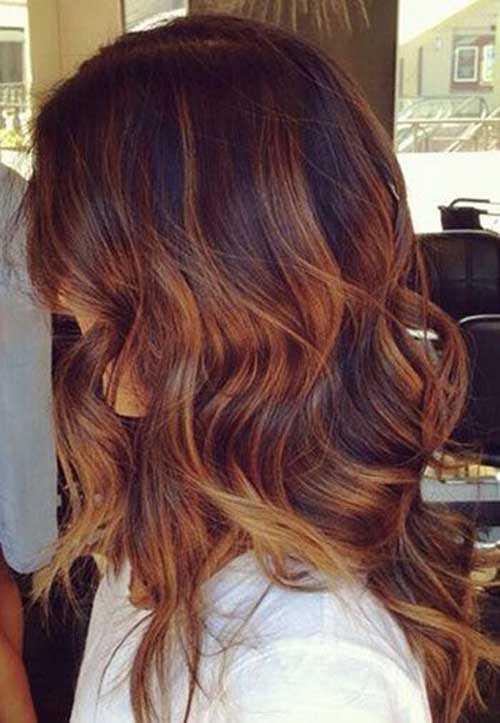 Las ideas de color de pelo para pelo oscuro-13