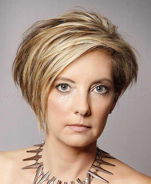 Estilos de pelo corto para mujeres mayores de 40-14