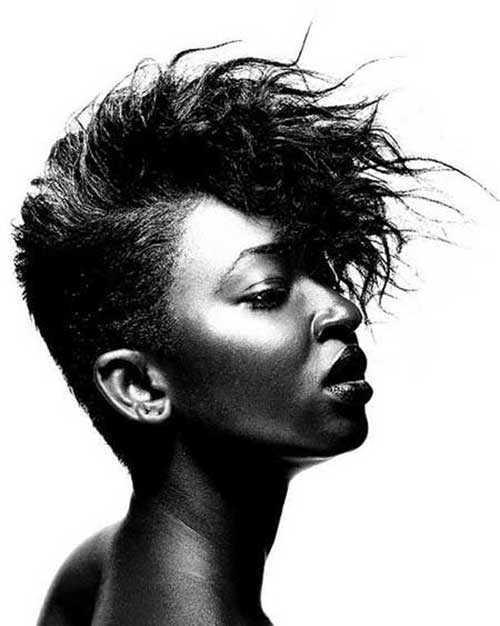 cortes de pelo corto para las mujeres Negro 2016-14